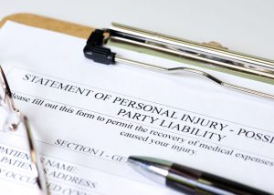 personal injury statement form